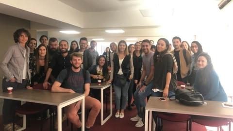 Masterclass para AMDIA en la Universidad Blas Pascal.